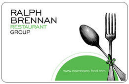 Ralph Brennan Restaurant Group Gift Card