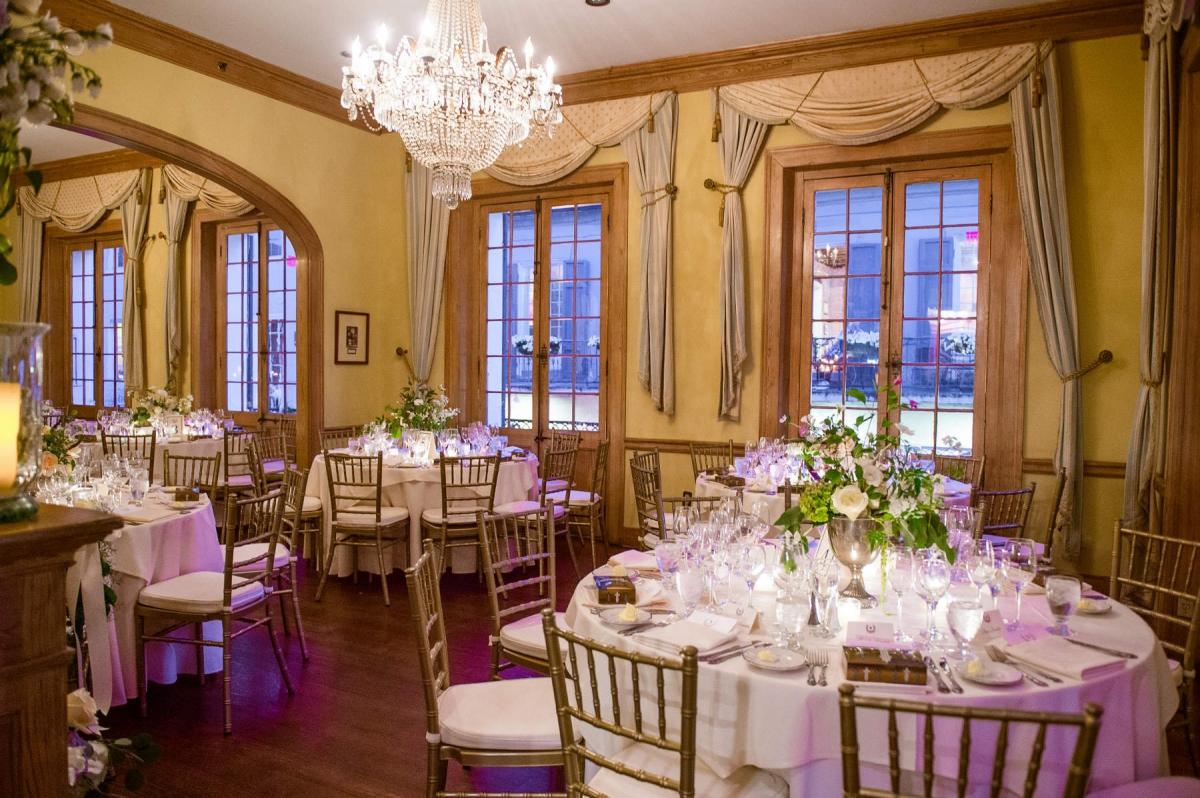 Napoleon house wedding