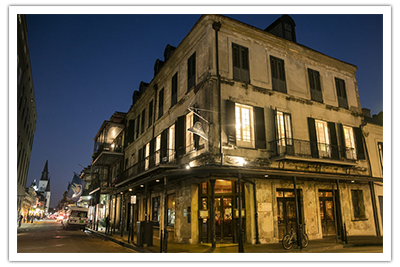 Photo of Napoleon House Exterior at Night