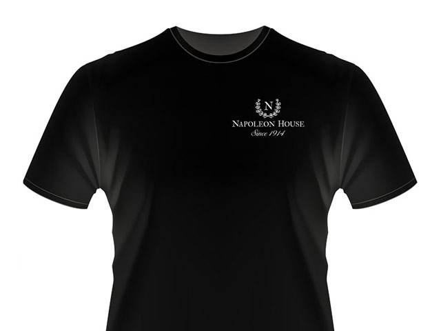 Napoleon House black t-shirt