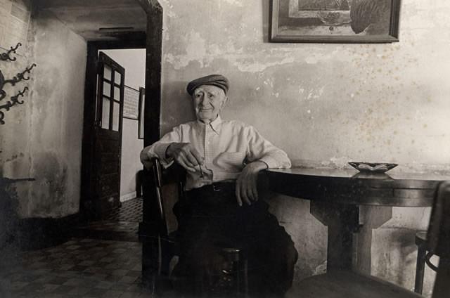 Photo of Joseph Impastato sitting in Napoleon House