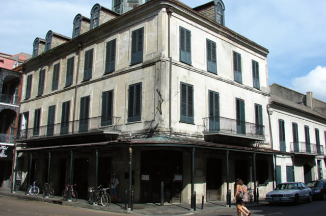 Photo of the Napoleon House Exterior